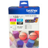 BROTHER LC133PVP VALUE PACK Black, Cyan, Magenta, Yellow 40 Sheet Photo Paper
