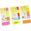 MARBIG RAINBOW PAGE MARKERS 20x50mm 160Sht Assorted