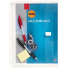 MARBIG BINDER WALLET A4 Clear Expanding