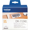 BROTHER DK11240 LABELS 102x51mm White Roll 600
