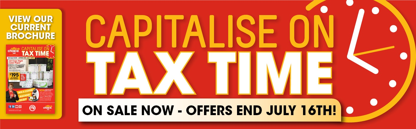 Capitalise on Tax Time